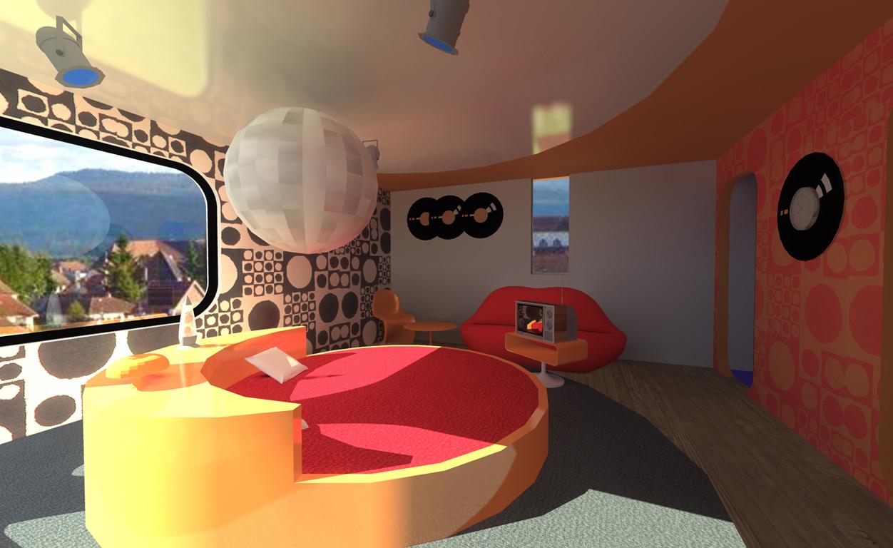 chambre disco villa basel