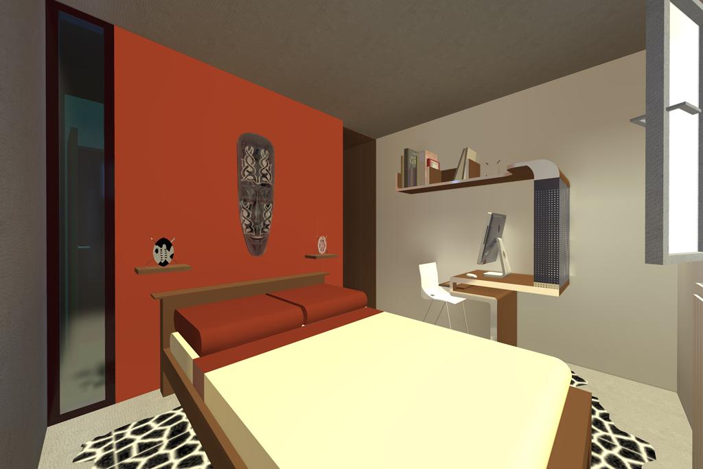 Appartement f2 lingolsheim 2011 adi home for Chambre avec salle de bain integree