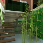 escalier villa basel