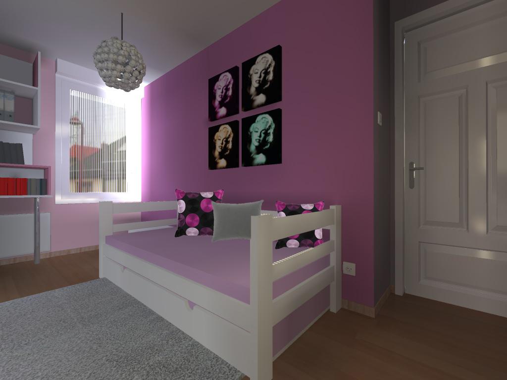 lit chambre ESCHAU