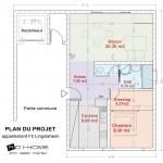 plan projet F2 lingolsheim