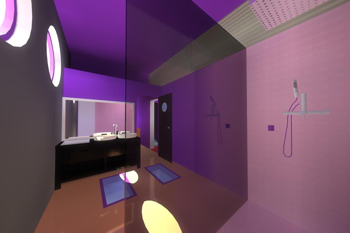 salle de bain villa basel