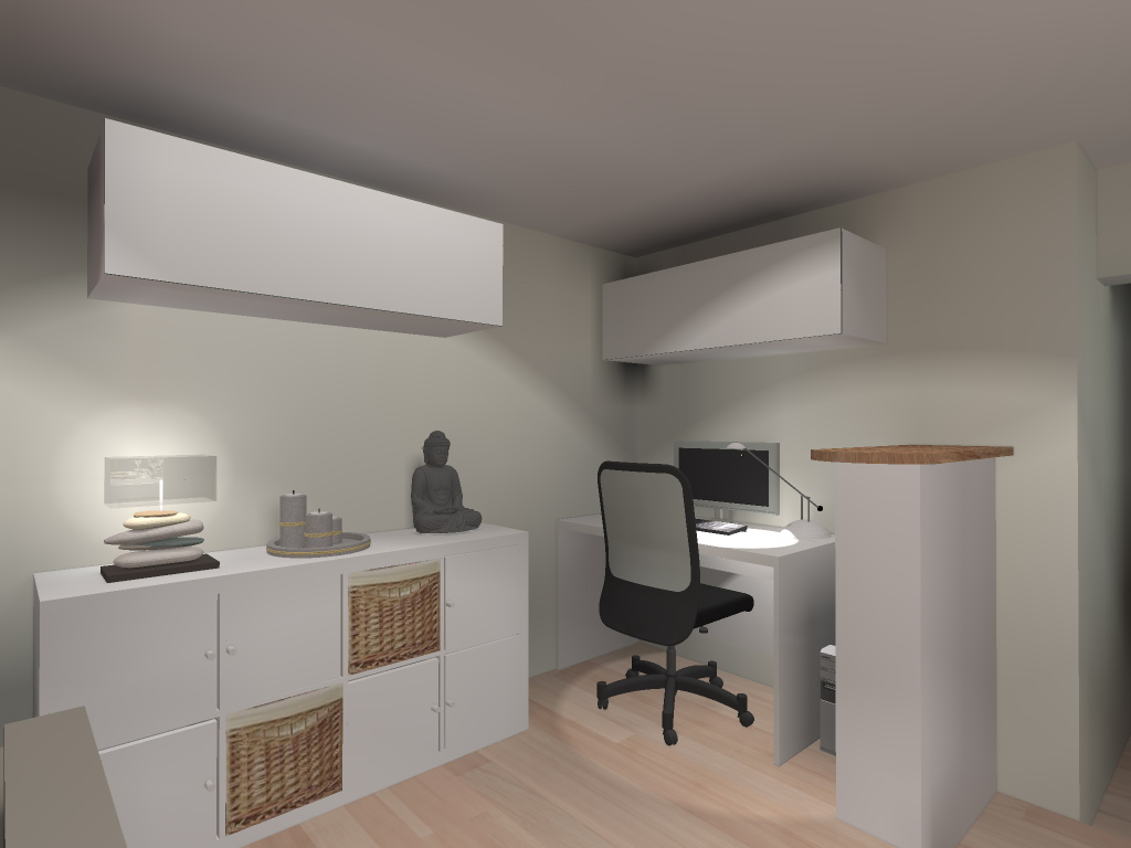 D coration bureau ambiance zen for Decoration interieur bureau